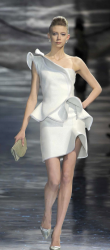 Giorgio Armani catwalk photo with short trendy dress from Spring and Summer 2010 collection.PNG