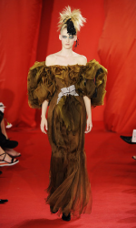 2008 Christian Lacroix brownish gold couture pictures.PNG