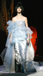 Blue silverish Christian Lacroix 2008 collection picture.PNG