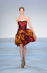 Christian Siriano short party dress from Spring 2010 Collection pictures.PNG