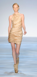 Christian Siriano Spring 2010 Collection with short elegant evening cocktail dres.PNG