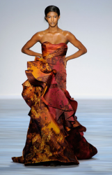 Elegant gown from Christian Siriano Spring 2010 Collection at NY Fashion Week.PNG