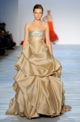 Tan gown from Christian Siriano Spring 2010 Collection at New York Fashion Week.PNG