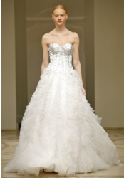 Reem Acra Bride Dress Collection 2010 Fall.PNG