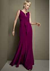 Kay Unger Silk Crepe Gown Picture.PNG