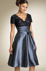 JS Boutique Cap Sleeve Lace & Taffeta Dress.jpg