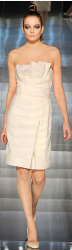 Haute Couture Spring 2009 collection picture of a short white dress.PNG