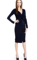 Valentino Pret-a-Porter Navy Jersey Dress_Valentino collection pictures.PNG