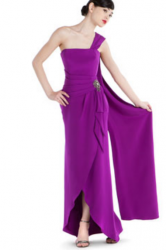 Kay Unger New York Wisteria Silk Beaded Gown.PNG