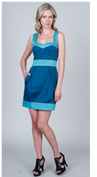 Pocketed Color Block Dresses by French Connection.PNG