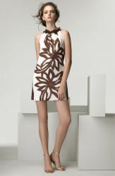 Milly Ikat Floral Ruffle Halter Dress.jpg