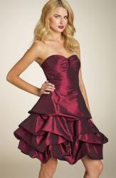 Sean Collection Strapless Tiered Bubble Dress.jpg