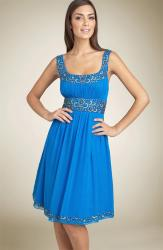 Adrianna Papell Bead Chiffon Party Dress Sapphire.jpg