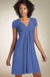 Nicole Miller Cap Sleeve Stretch Rayon Jersey Dress.jpg