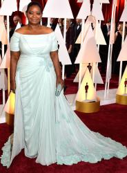 Octavia Spencer in Tadashi Shoji gown at the 87th Annual Academy Awards.JPG