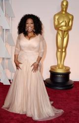 Oprah Winfrey wears Vera Wang Collection at the 87th Oscars - Oprah 2015 red carpet pictures.JPG