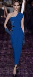 Royal Blue Versace Haute Couture Fall 2014 Collection.JPG