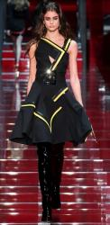 Versace Dresses Runway Dresses in Leather.JPG