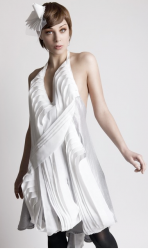 Project runway 5 designer Leanne Marshall collection of cute white dress for party event.PNG