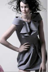 Very cool and fashionable dress by Leanna Marshall in her collection Fall 2008.PNG