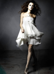 Very cute white dress from Leanne's Spring 2008 collection.PNG