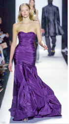 Michael Kors gown in dark purple.PNG